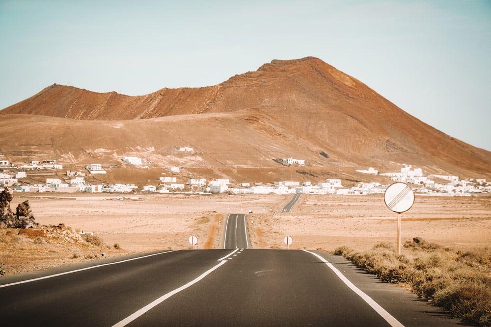 quel itinéraire Lanzarote moins 1 semaine