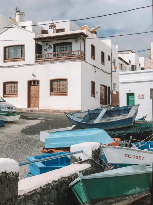 restaurant Punta Mujeres proche tunnels de lave Lanzarote