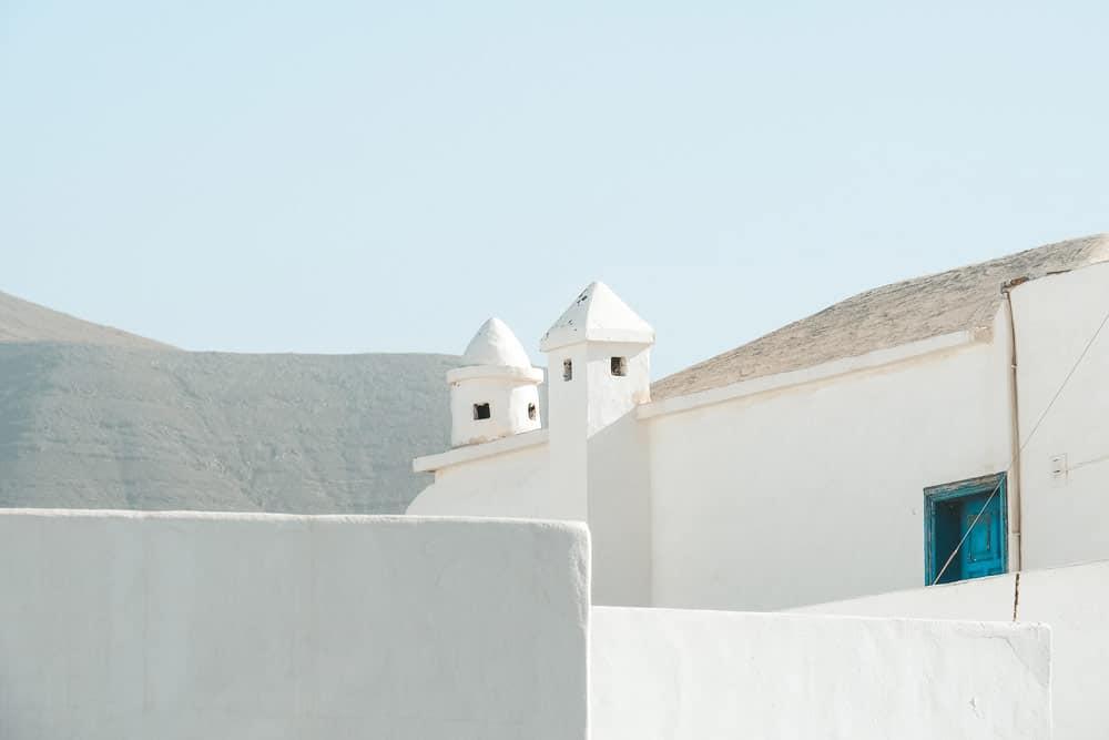 village de pecheurs Lanzarote Famara