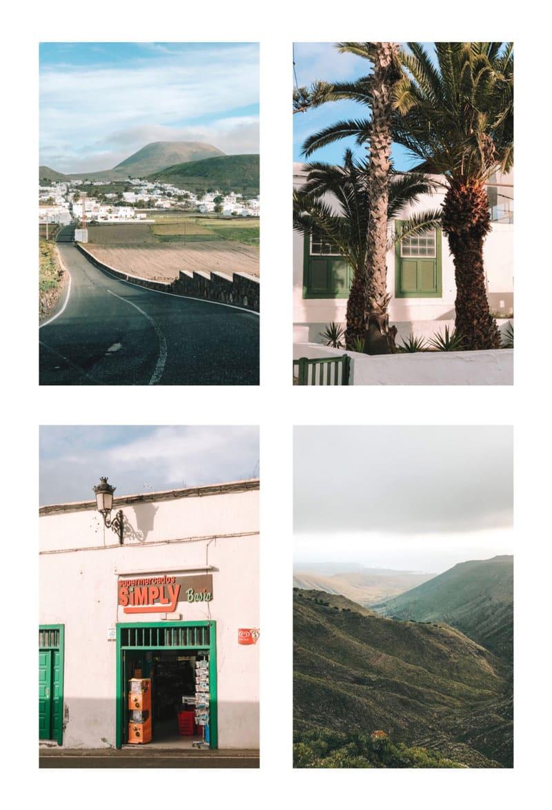 visiter Nord de Lanzarote village typique Haria