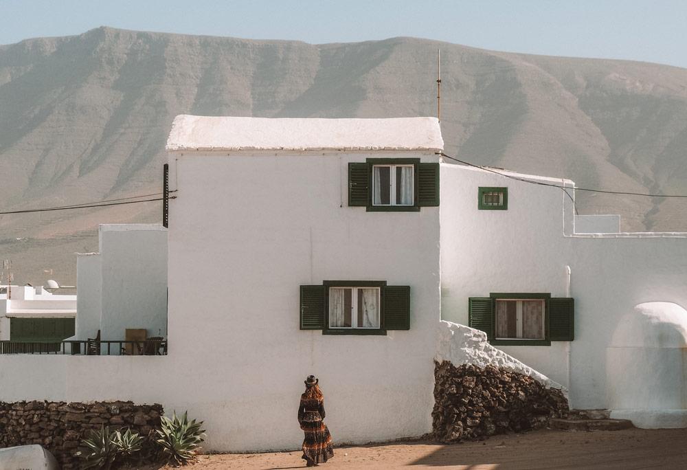 visiter village Caleta de Famara voir Lanzarote