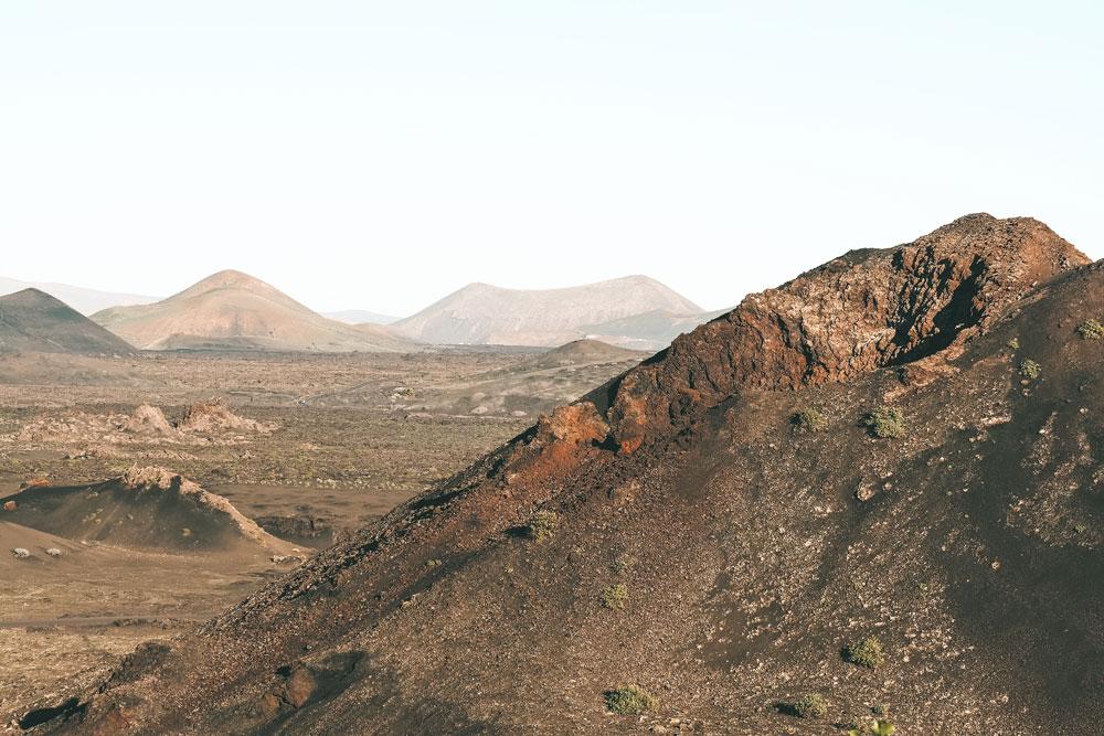 belvédère parc Timanfaya volcans de feu Lanzarote