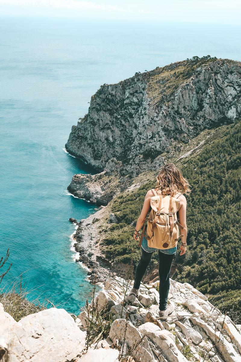 comment aller à la plage Coll Baix Majorque