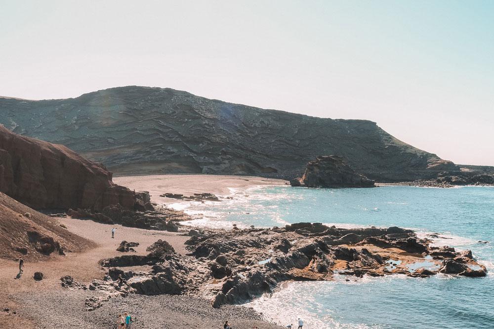 El Golfo sans touriste Lanzarote meilleure saison