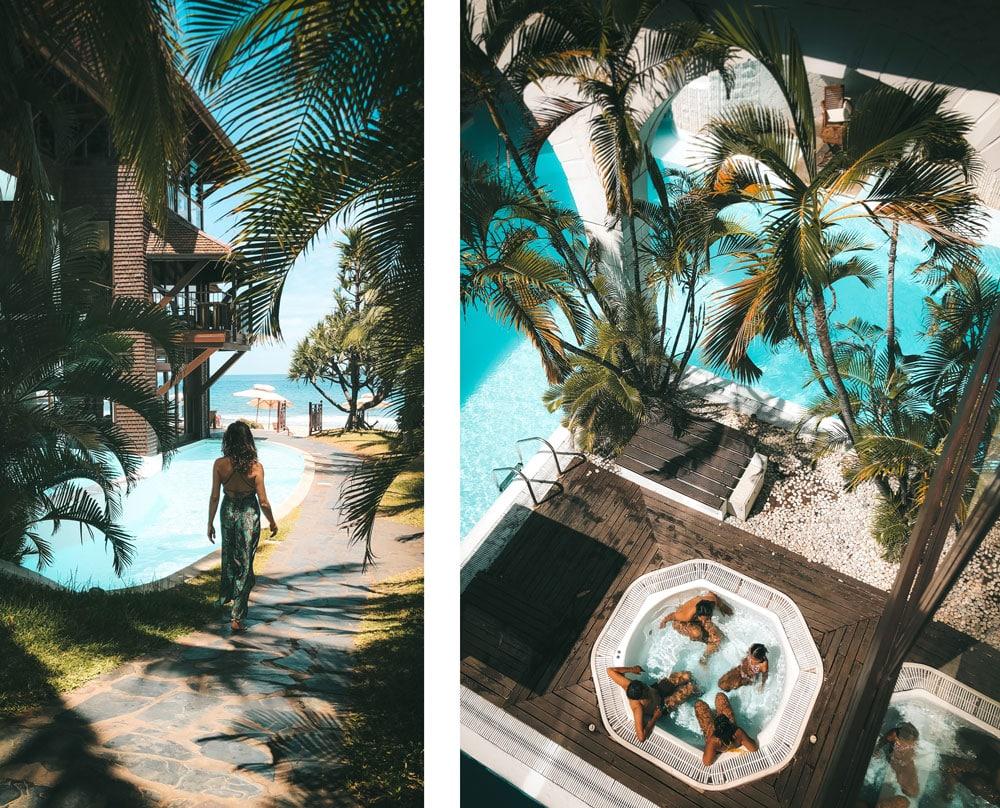 hôtel Spa Saint Alexis plage Boucan Canot