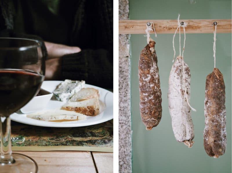 où manger produits terroir Auvergne auberge le Sauvage