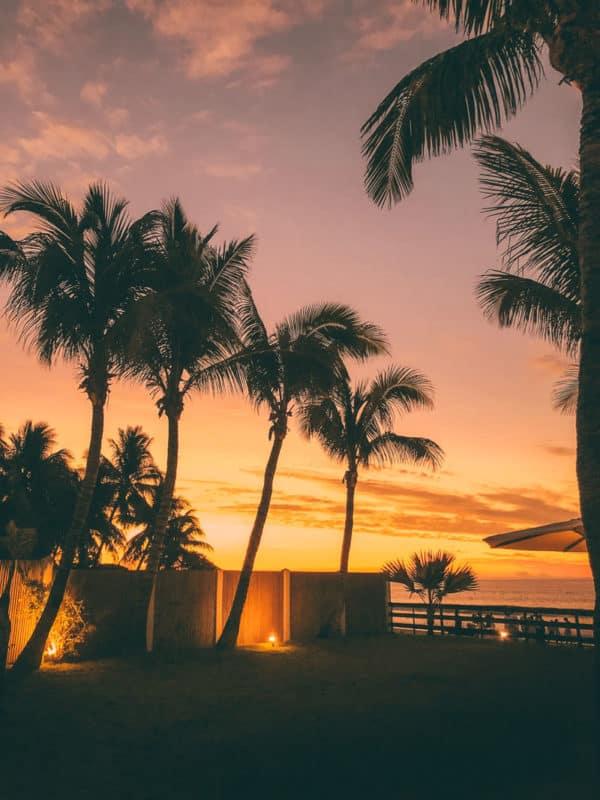 où voir le plus beau coucher de soleil plage Réunion