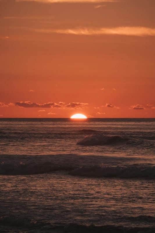où voir les plus beaux sunsets île Réunion