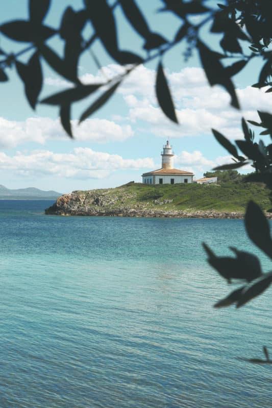 phare de Alcanada Alcudia Majorque
