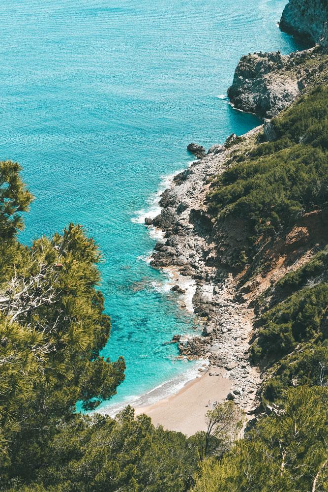 plages secrètes randonnées Majorque