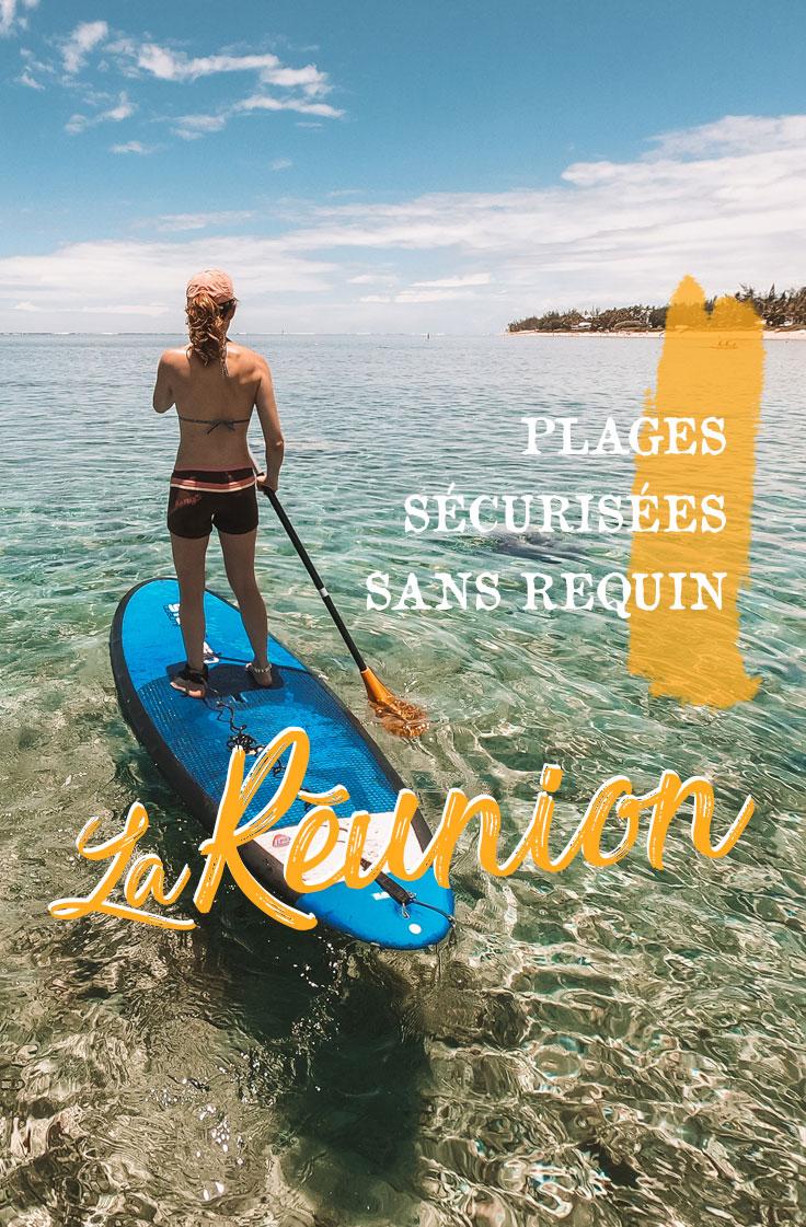 plages securisées Réunion paddle et snorkeling