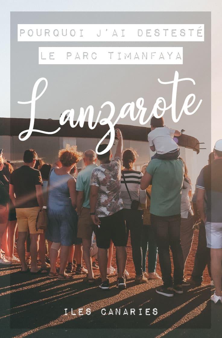pourquoi ne pas faire parc Timanfaya Lanzarote