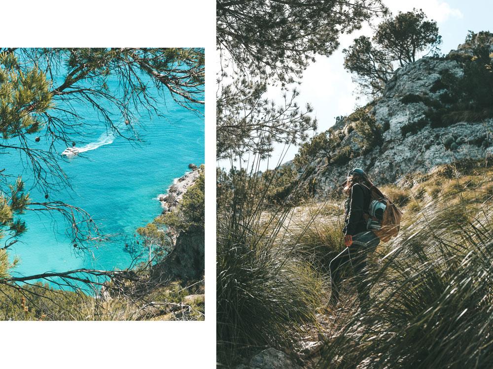 rando sur le littoral Majorque
