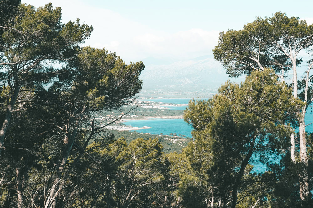 randonner à Majorque en été Cap des Pinar