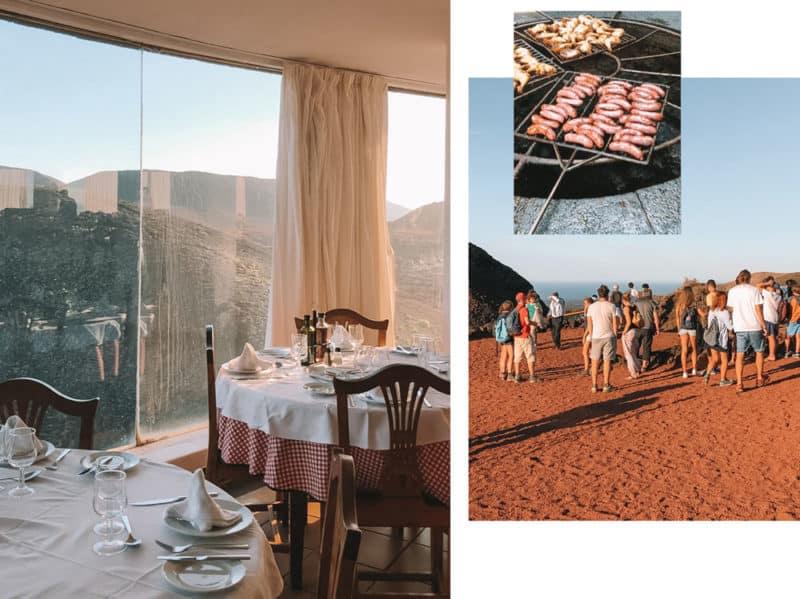 restaurant parc Timanfaya Lanzarote où manger ?