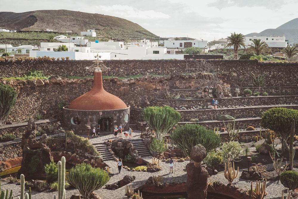 visiter jardin exotique Lanzarote