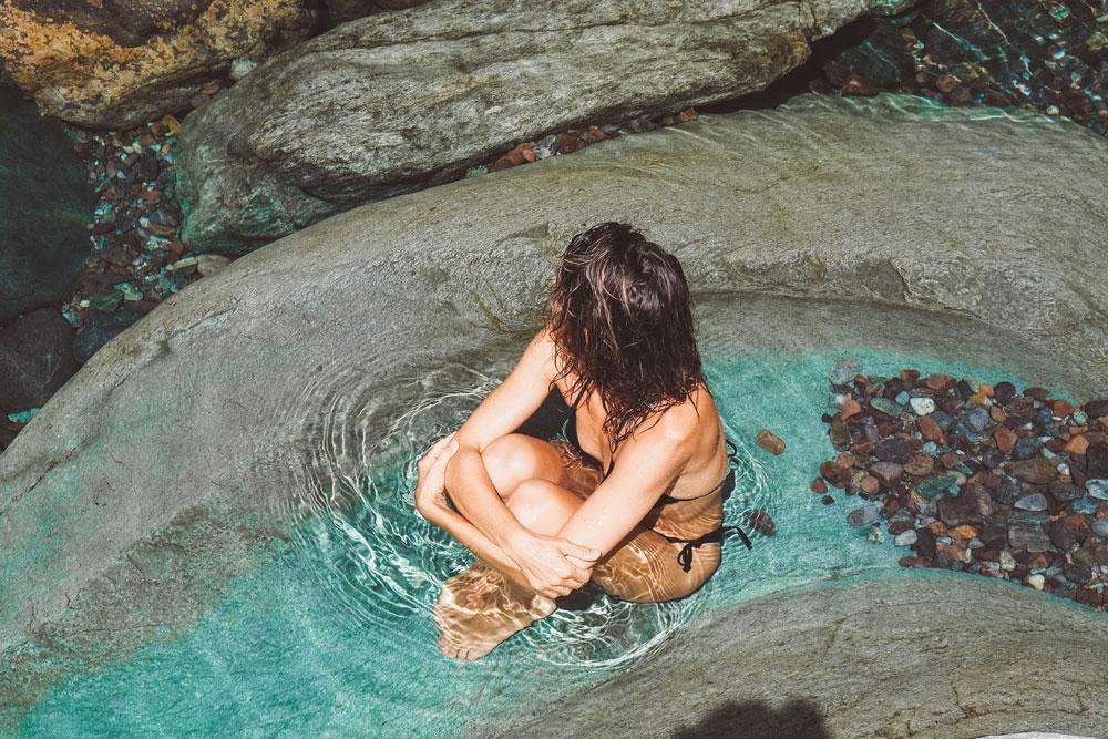 baignade cascade et vasque naturelle Haute Corse