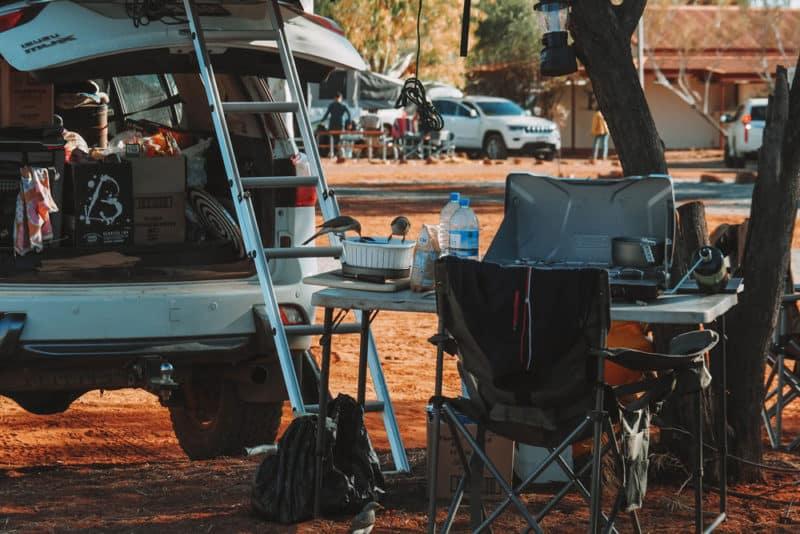 camping tout confort en Australie parcs nationaux
