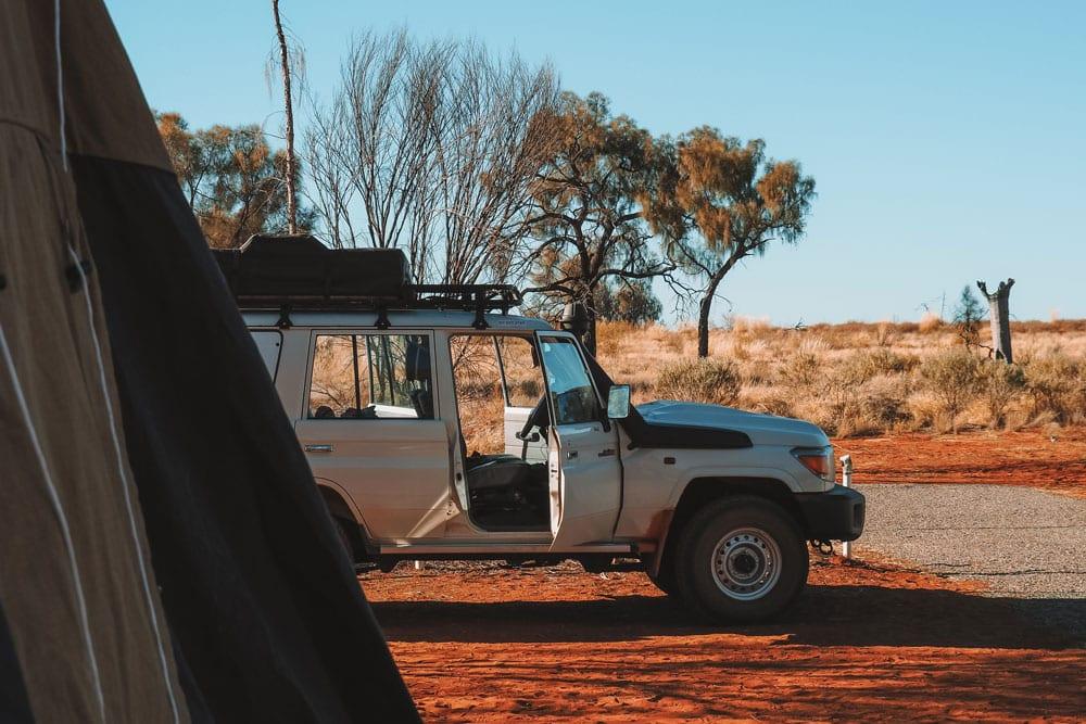 conseils camping Australie où dormir