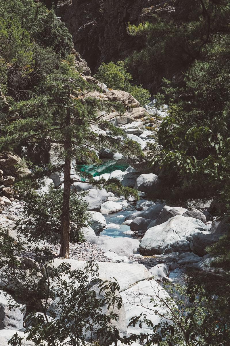 endroits secrets où se baigner en Haute Corse