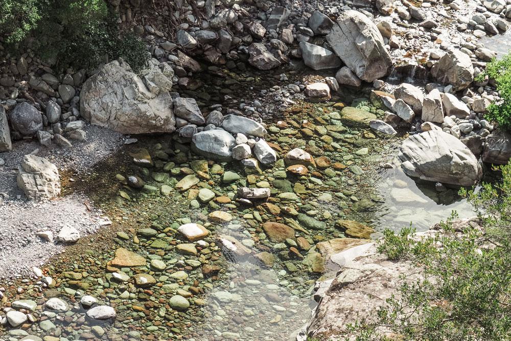 nager dans les vasques naturelles Haute Corse