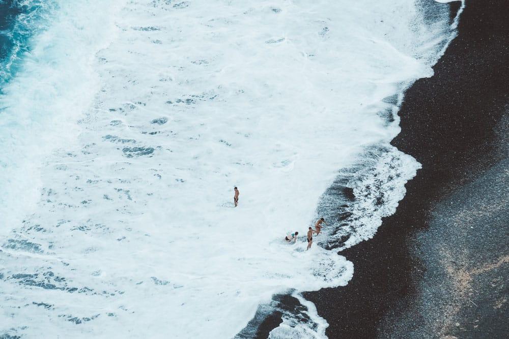 Où aller se baigner en Corse ? plage Nonza