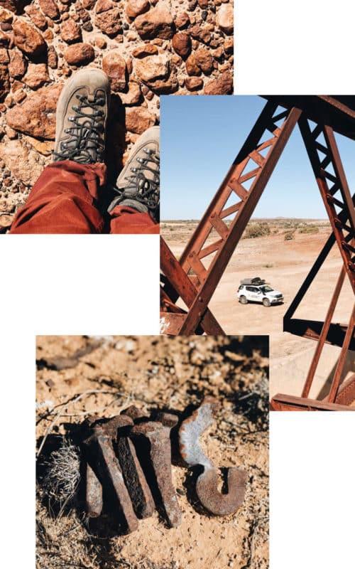 où dormir en road trip 4x4 en Australie piste Oodnadatta Track