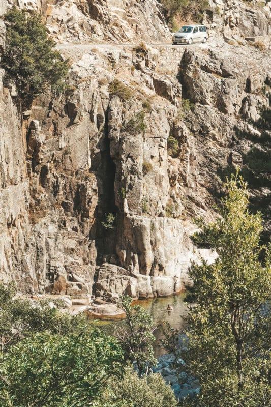 où se baigner cascade et rivière Haute Corse