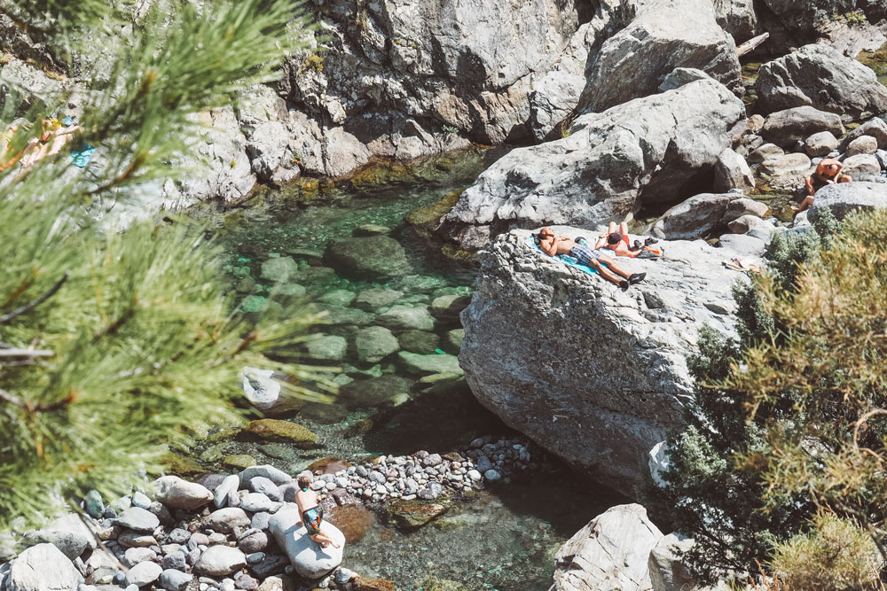 où se baigner en Haute Corse sans trop de monde