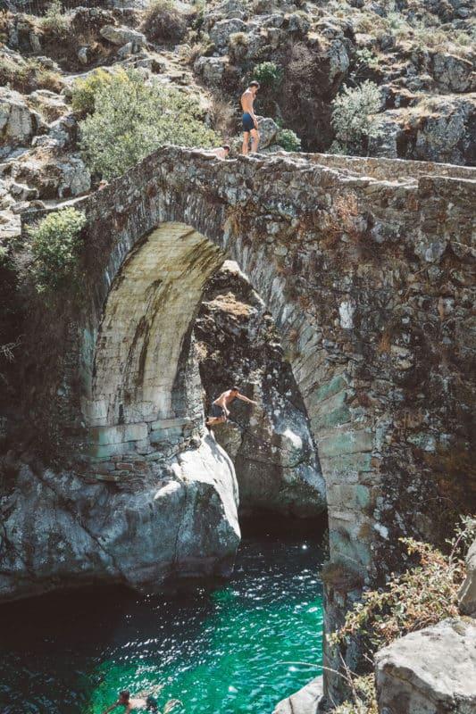 baignade riviere Gorges de l'Asco