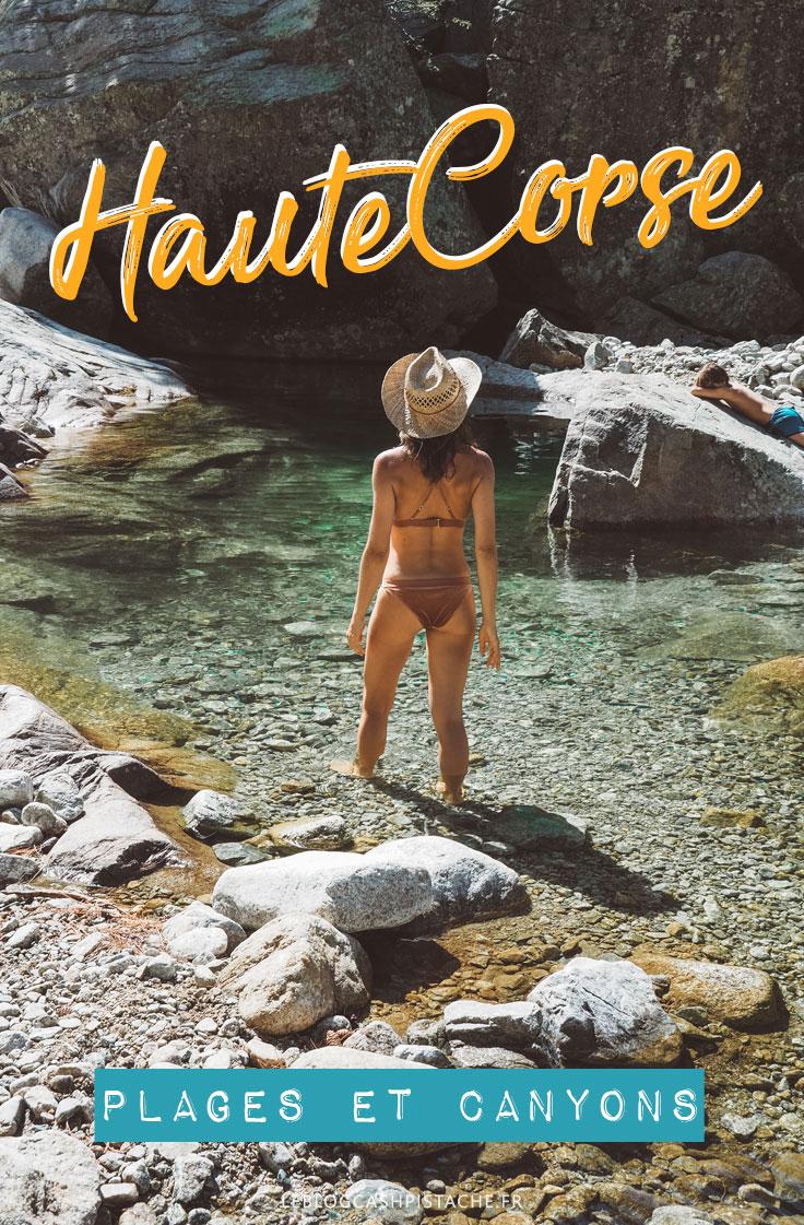 plages et canyons en Haute Corse vacances