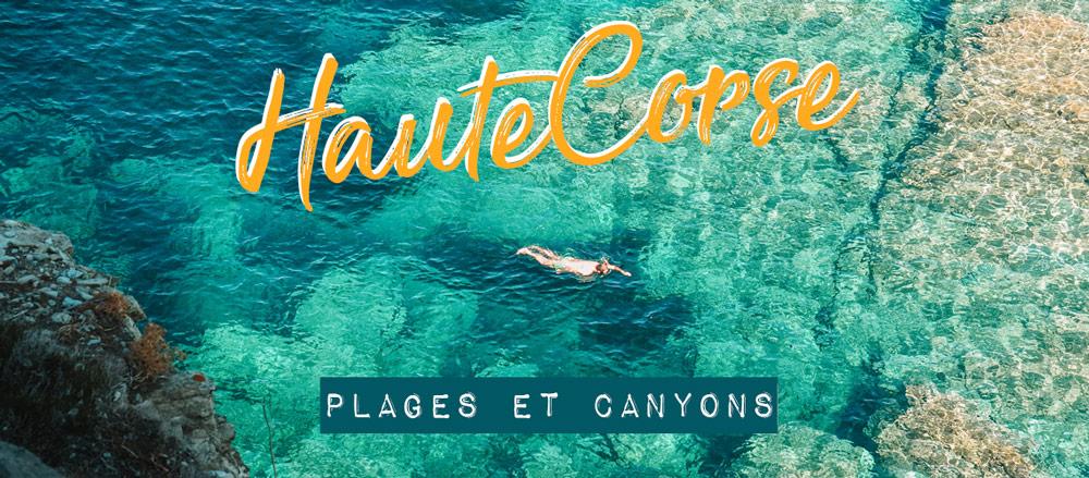 plages rivière où se baigner en Haute Corse