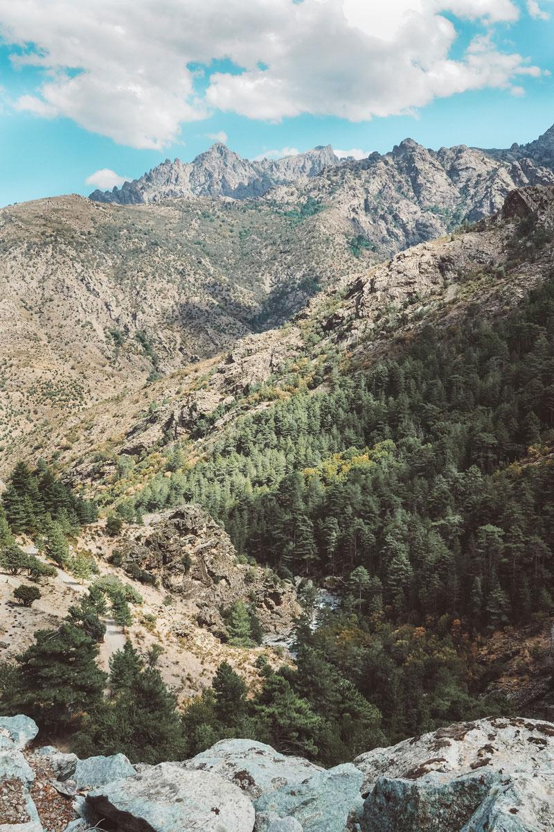 plus beaux canyons Corse où se trouve Gorges Asco