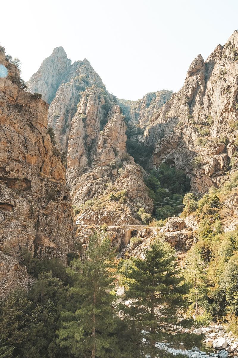 se biagner en montagne Haute Corse Asco