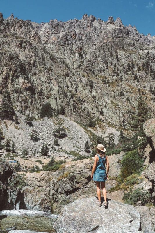 visiter les gorges de la Restonica vers Corte Haute Corse