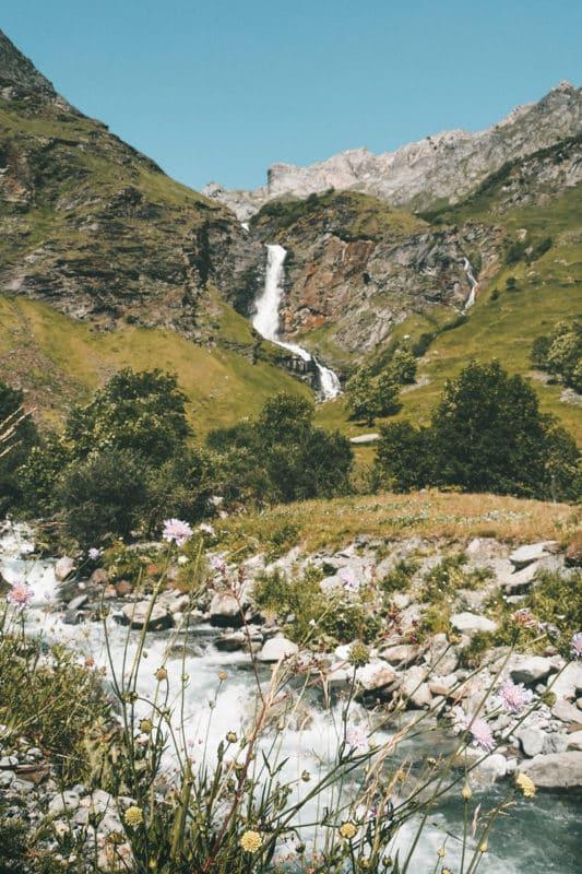 cascade du Py Champagny en Vanoise