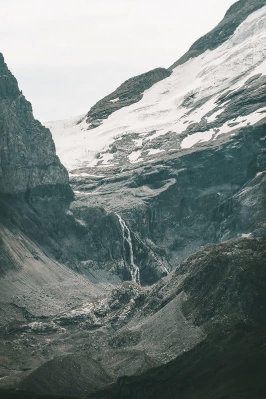 cascade glaciers parc national de la Vanoise