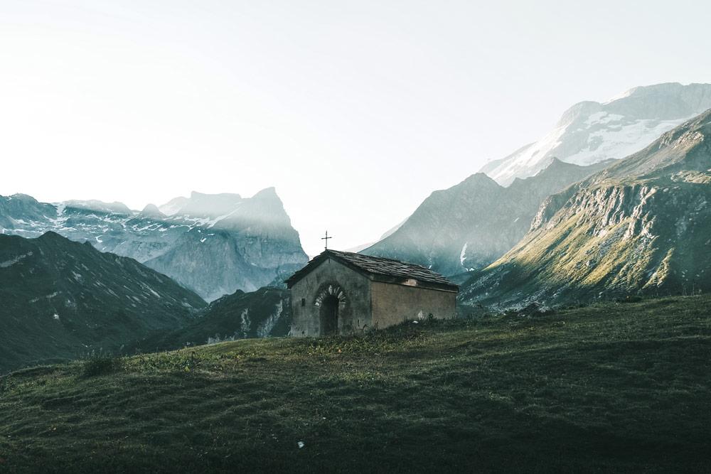 chapelle de la Glière Champagny-en-Vanoise