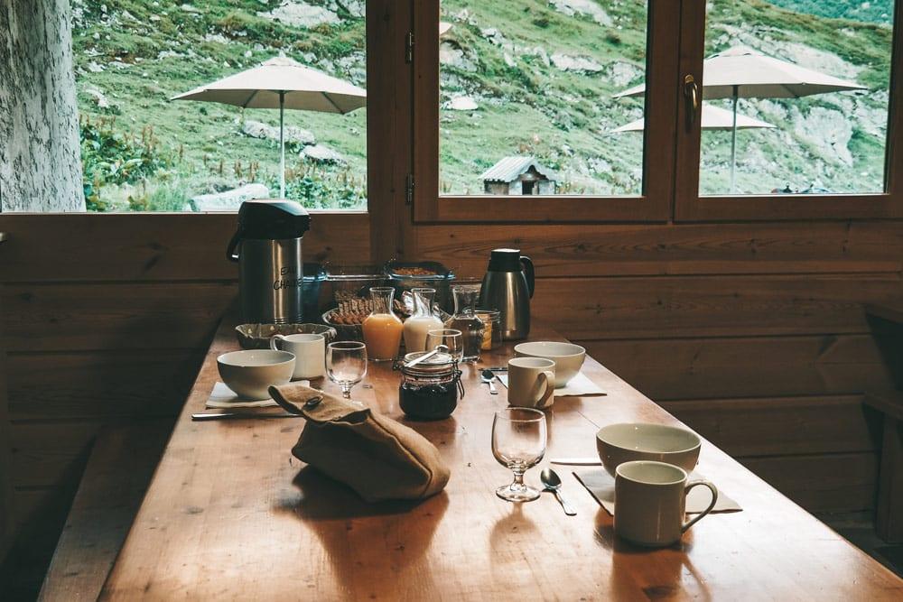 dormir au refuge de la Glière parc national de la Vanoise