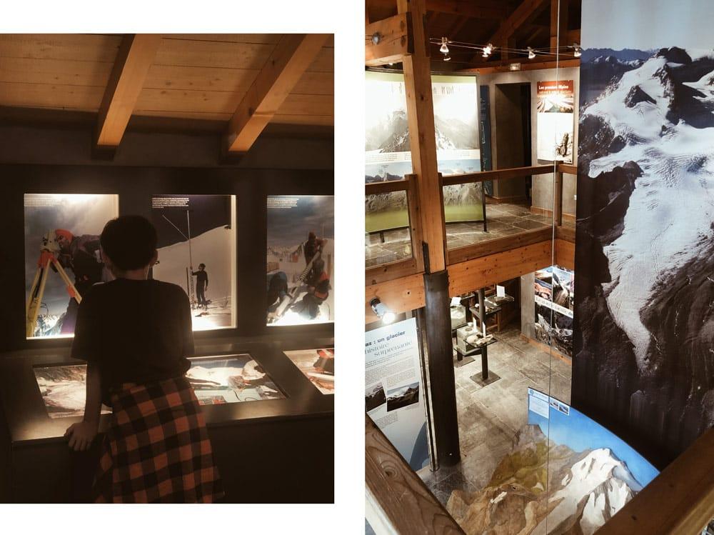 espace glacialis Champagny musée glaciers