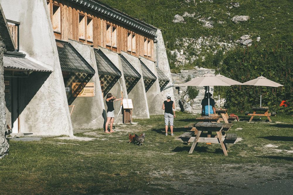 grand refuge gîte avec repas Champagny en Vanoise