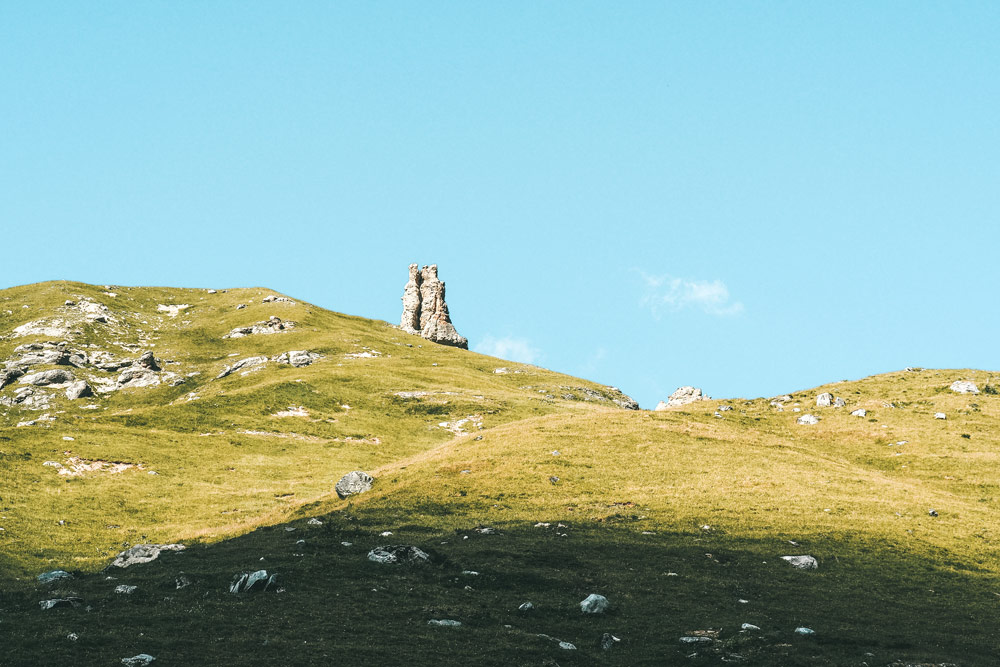 la tour Champagny Vanoise rando refuge Glière