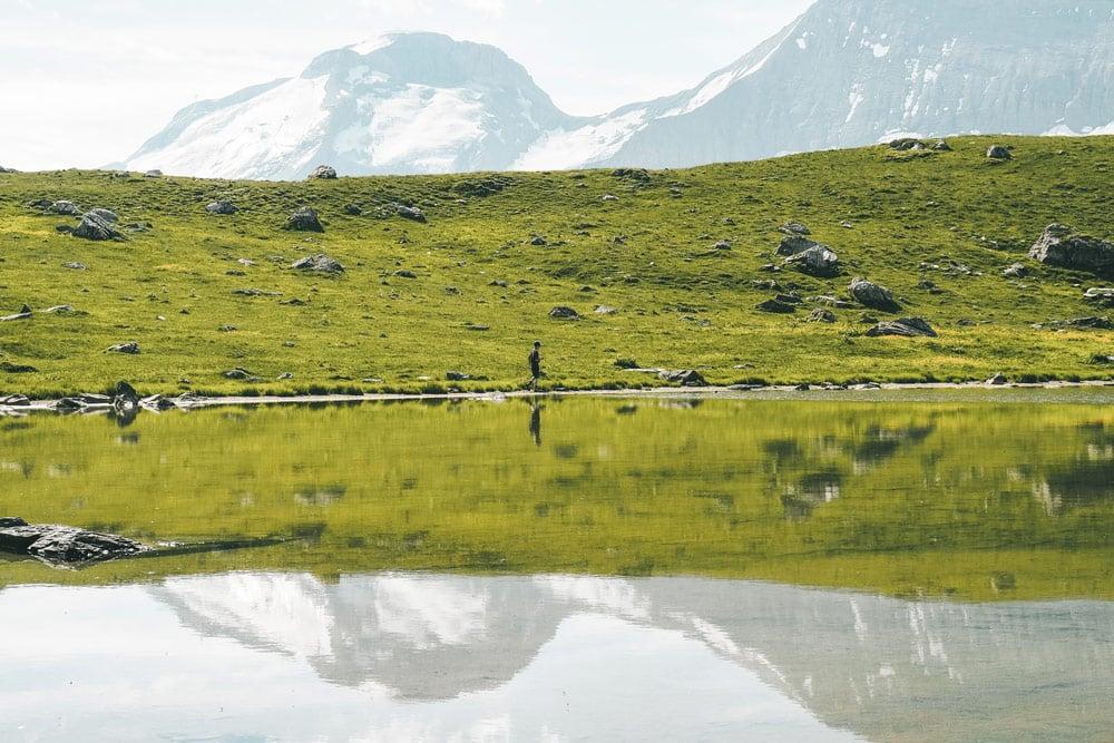 lac des Échines Champagny en Vanoise