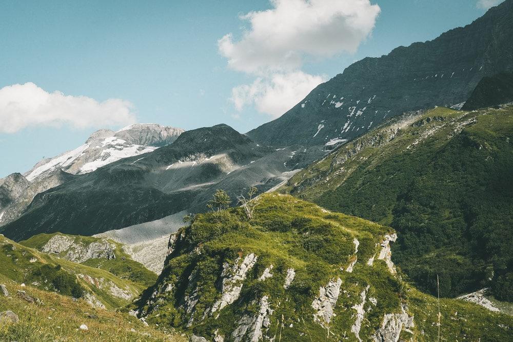 plus belle randonnée des glaciers parc national Vanoise