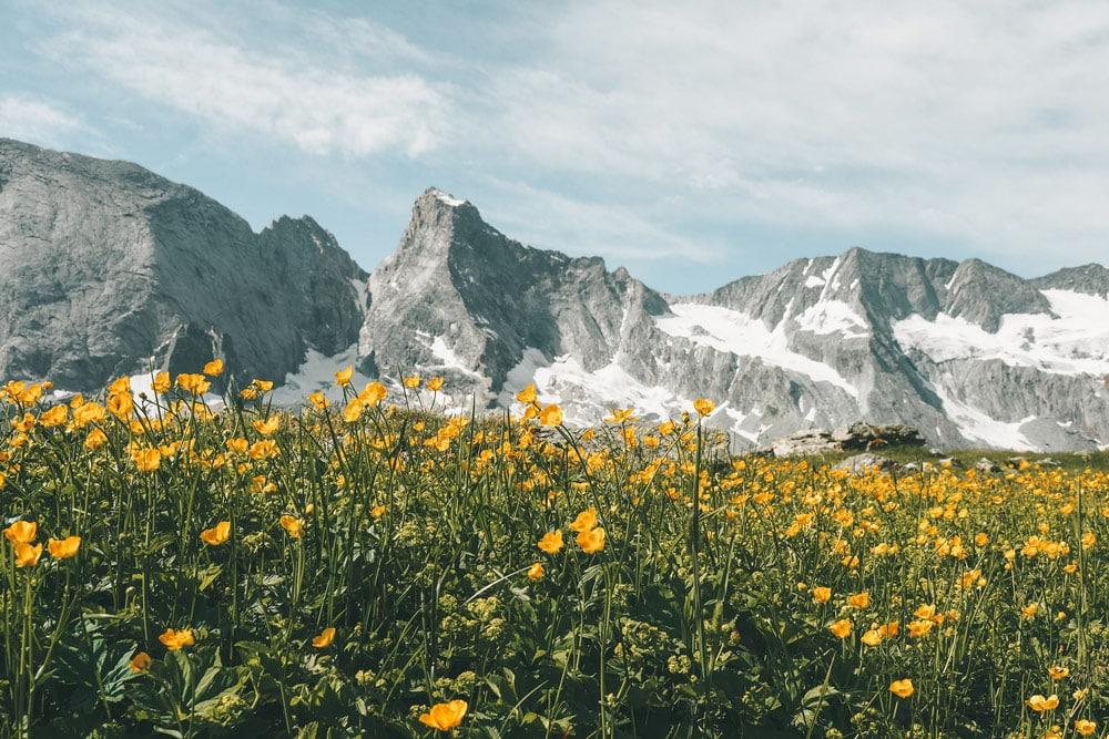 randonnée des glaciers parc national de la Vanoise