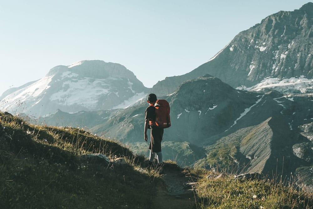 randonnée facile en été glaciers Vanoise