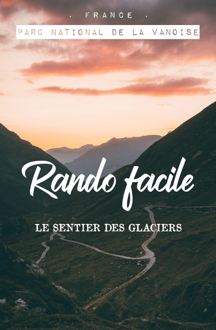 randonnée famille glaciers de Vanoise Plagne