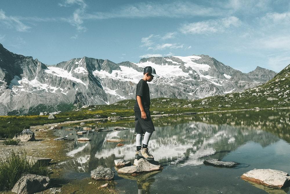 randonnée famille glaciers de Vanoise