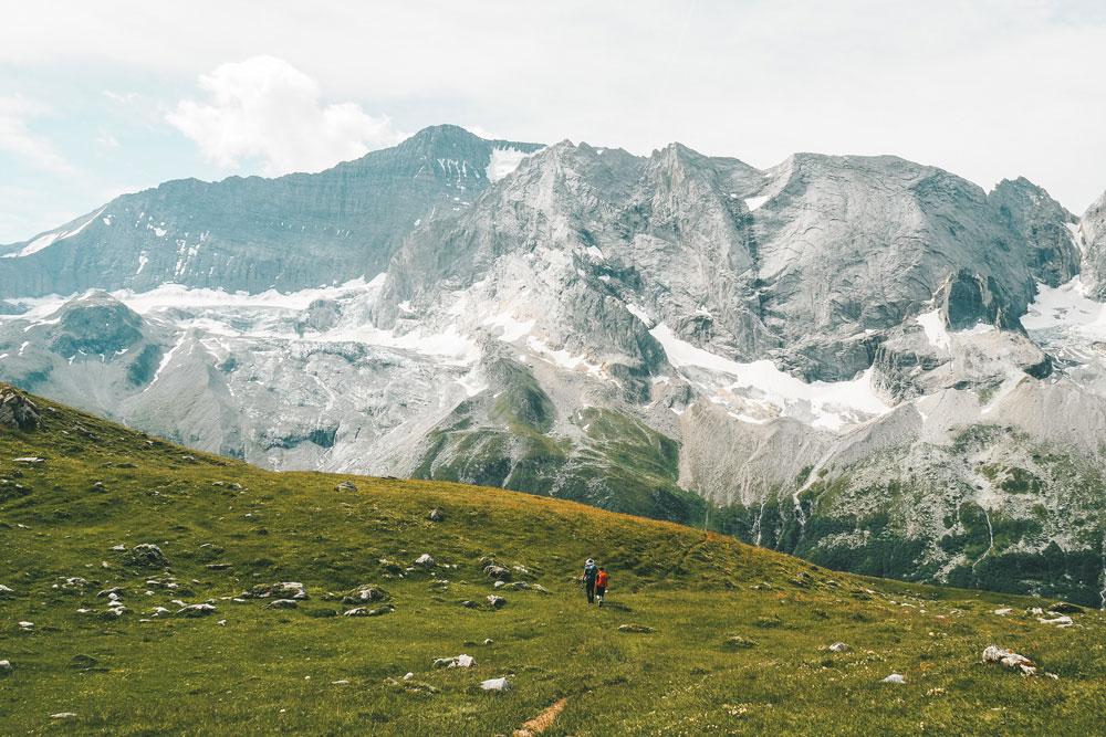 randonnée glaciers de la Vanoise avec enfant