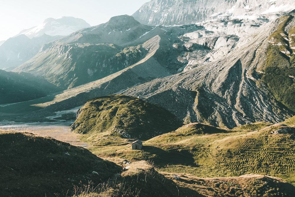 refuge de la Glière glacier Épena itinéraire